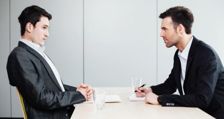 Primer minuto de la entrevista